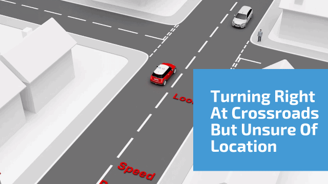 Turning Right At Crossroads But Unsure Of Location