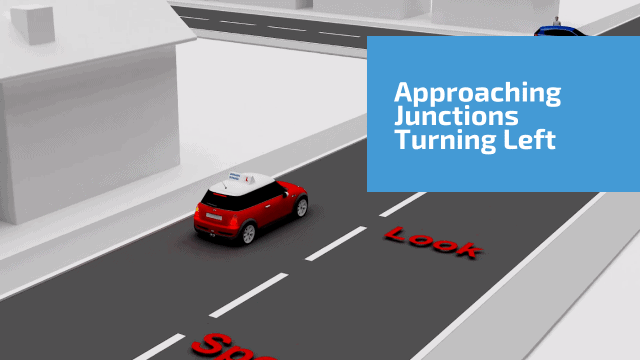 Approaching Junctions Turning Left