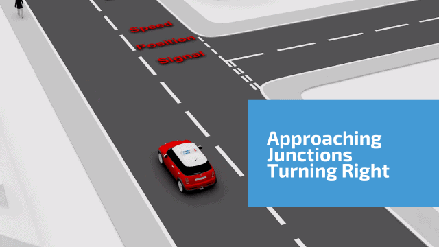 Approaching Junctions turning right