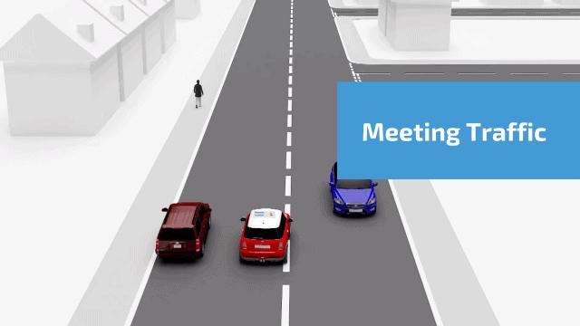 Meeting traffic