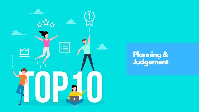Planning & Judgment