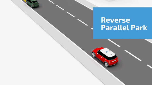 Reverse parallel park