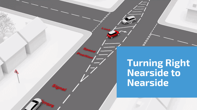 Turning Right Nearside To Nearside Using Turning Boxes
